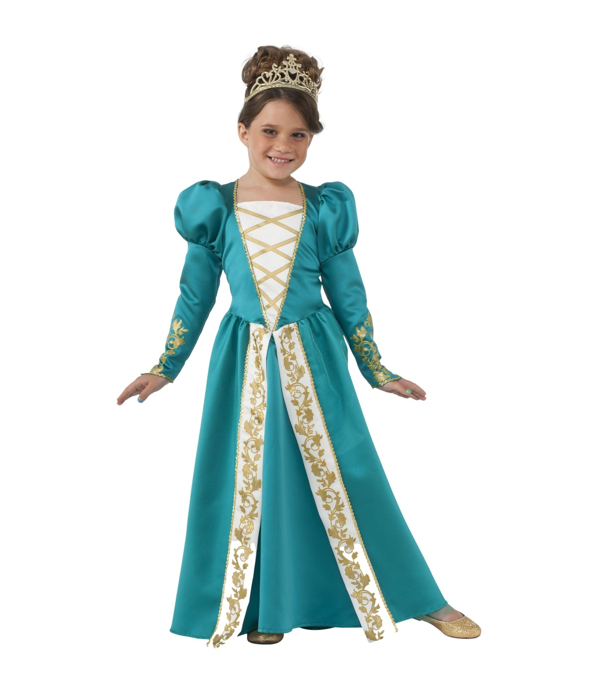 Jade Princess Renaissance Girls Costume  sc 1 st  Wonder Costumes & Jade Princess Renaissance Girls Costume - Renaissance Costumes