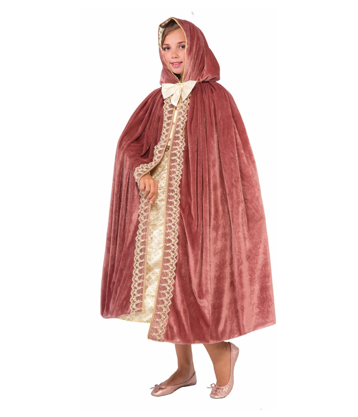 Mauve Girls Princess Escape Cape Capes Coats And Vests