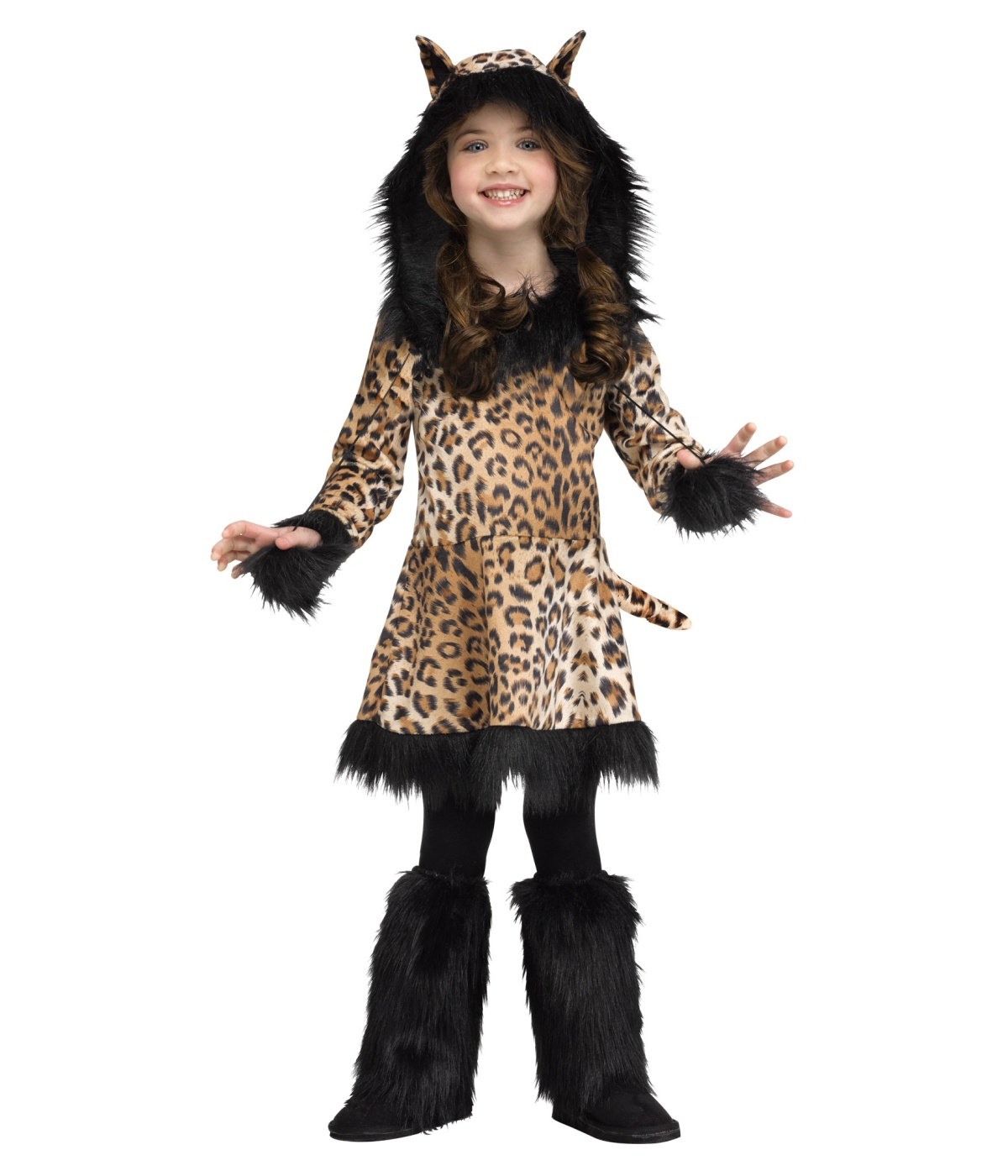 015fb90d4469 National Leopard Girls Costume - Animal Costumes
