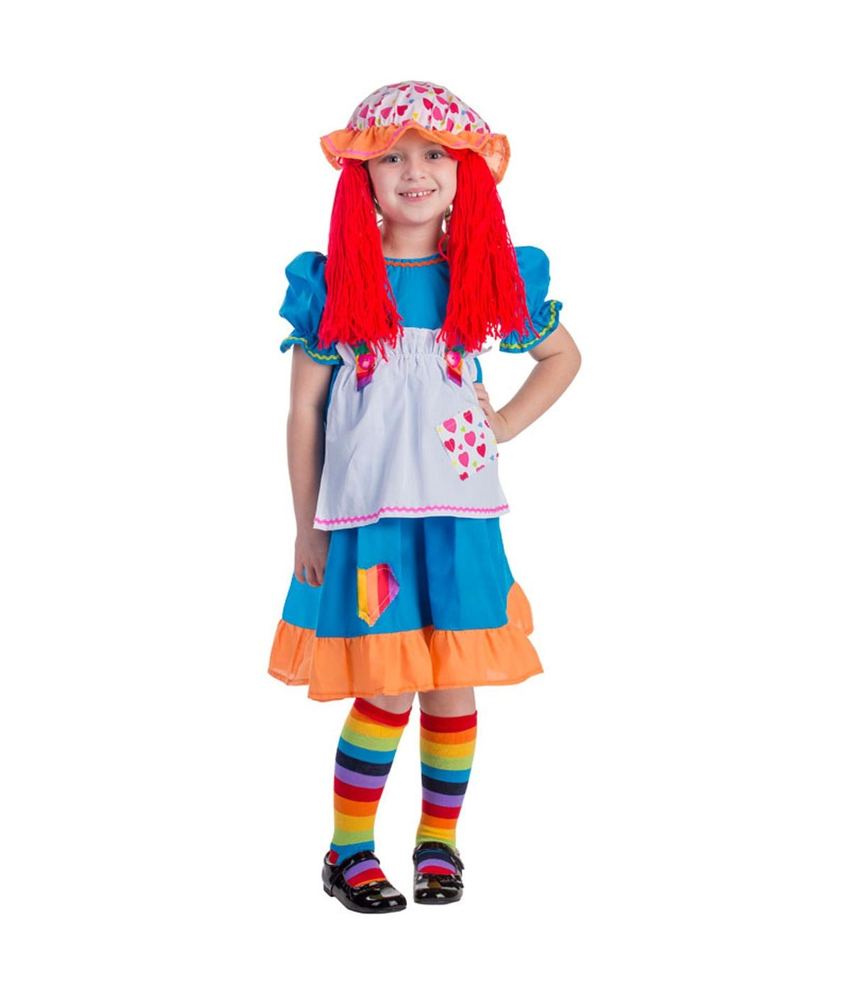 sc 1 st  Wonder Costumes & Rainbow?rag Doll Toddler/girls Costume - General Category