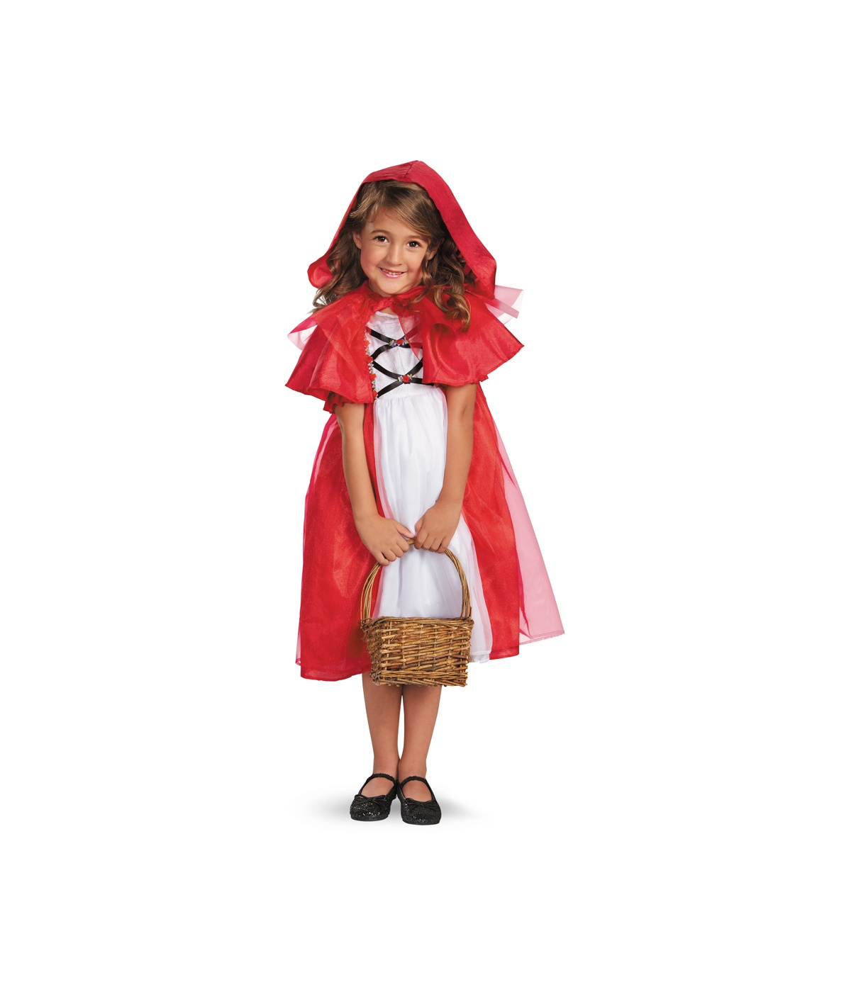 Storybook Little Red Riding Hood Girls Costume - Fairy Costumes