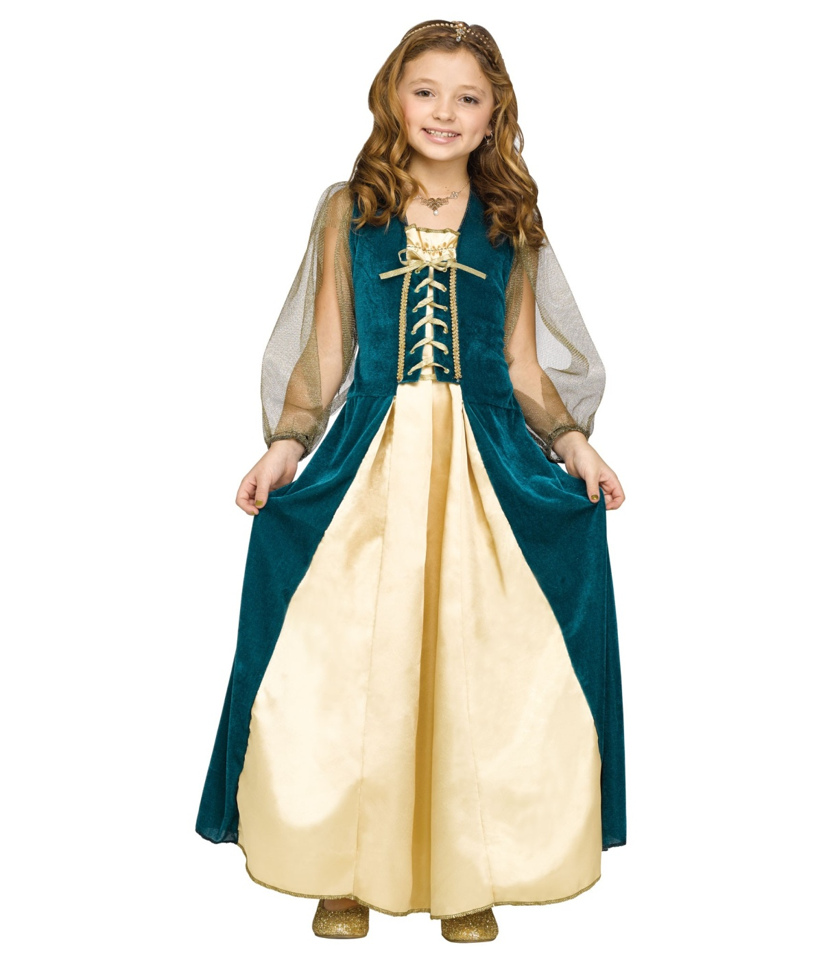 Romeos Juliet Renaissance Girls Costume  sc 1 st  Halloween Costumes : child renaissance costumes  - Germanpascual.Com