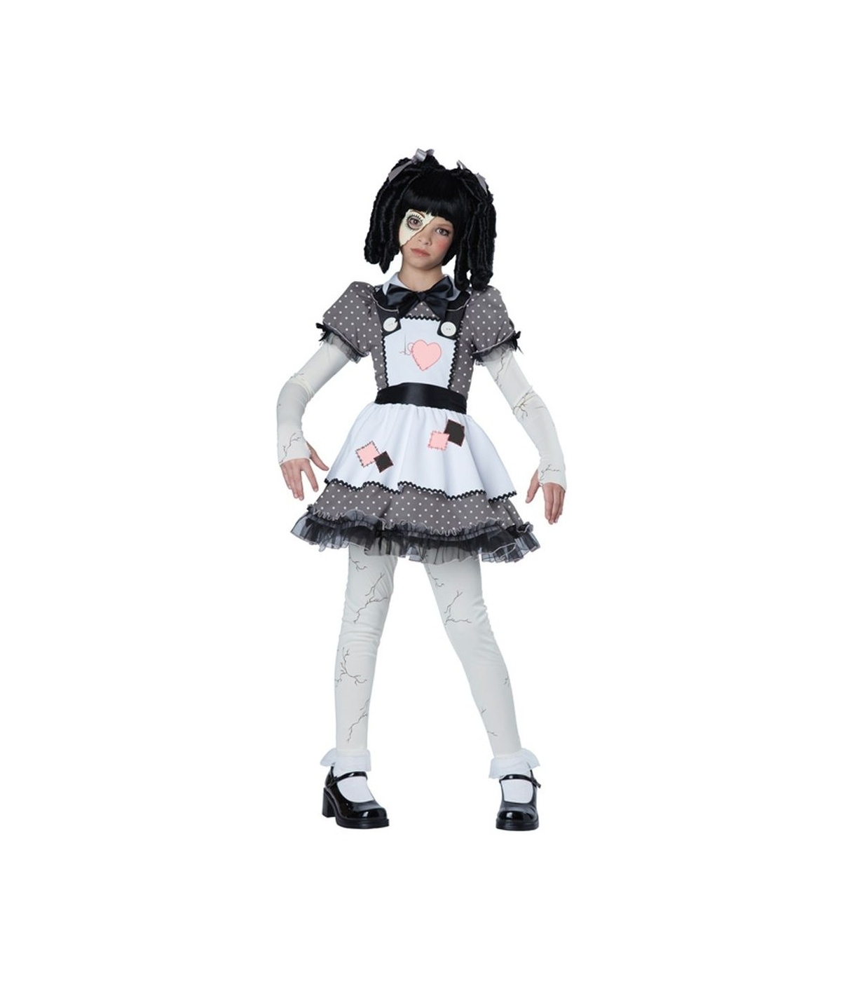 Spooky And Haunted Doll Girls Costume Scary Costumes