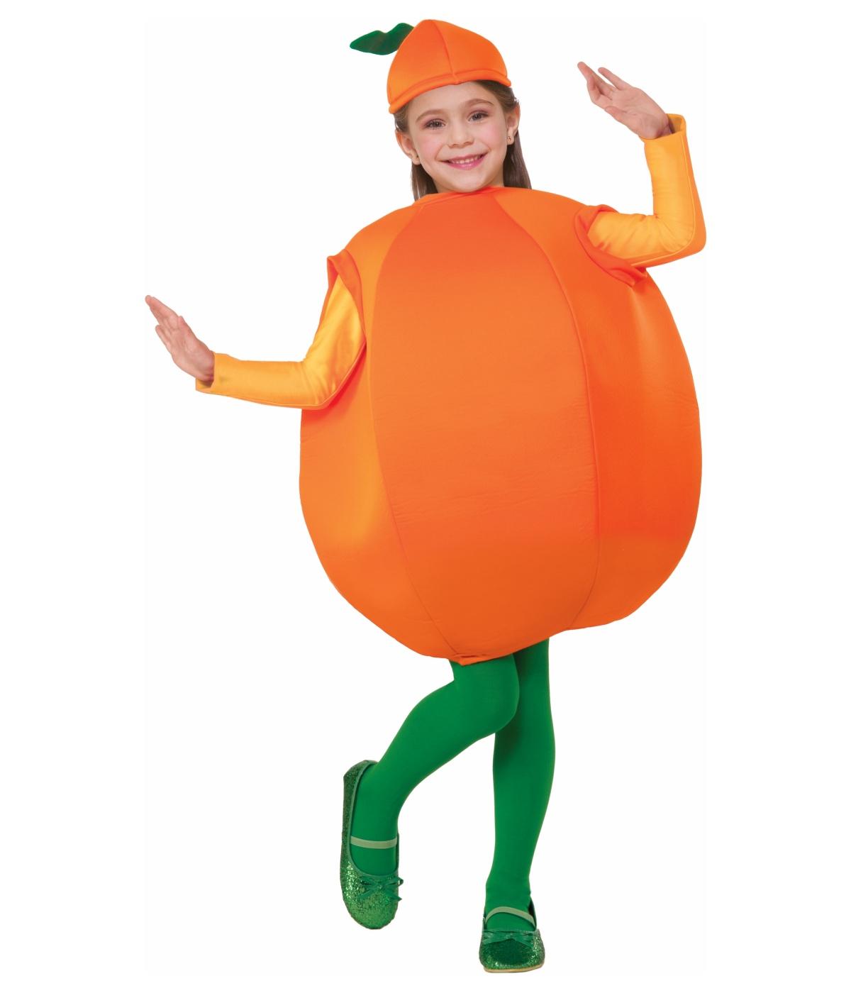 Sweet Orange Kids Fruit Costume - Food Costumes