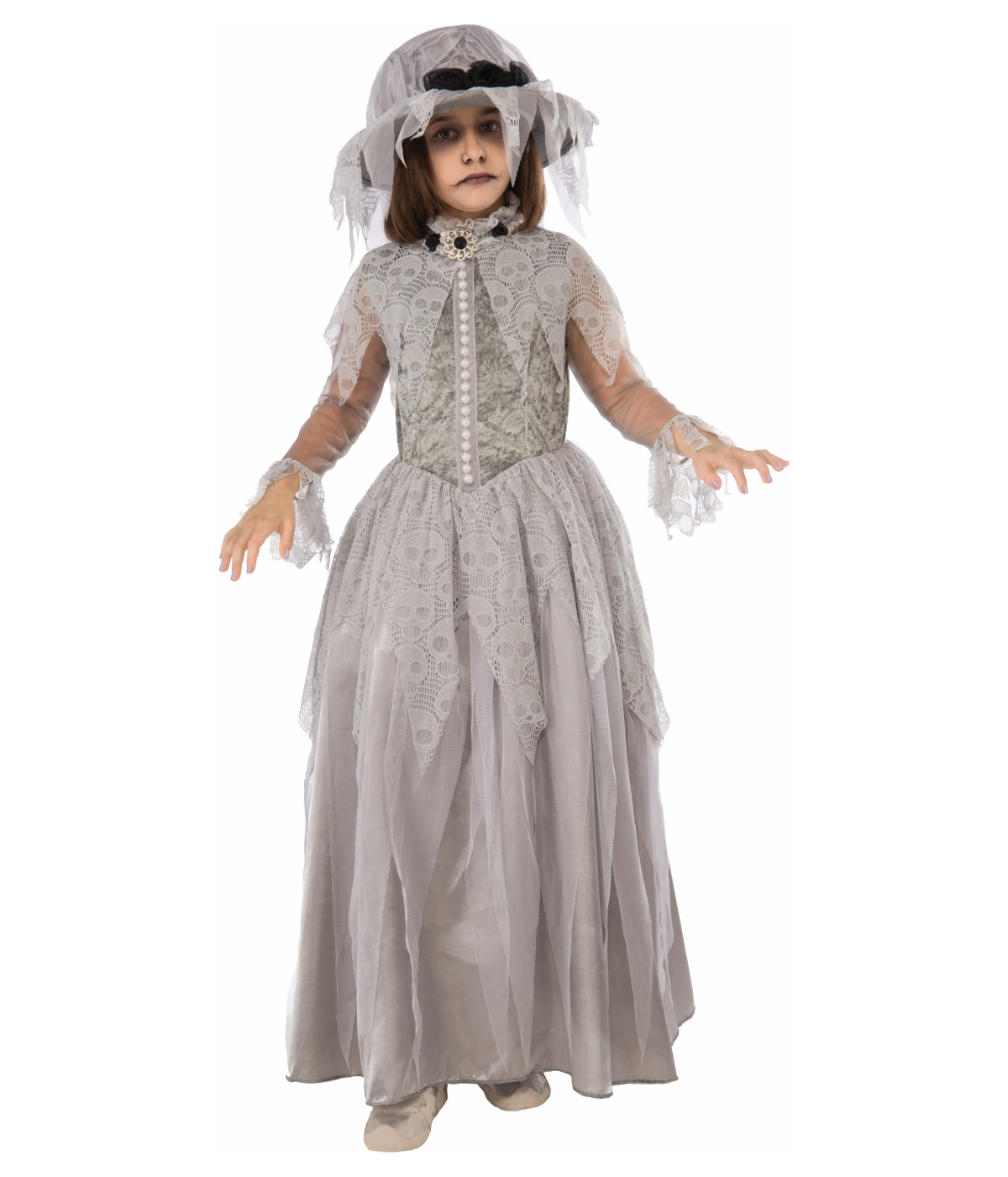 sc 1 st  Wonder Costumes & Victorian Bride Girls Ghost Costume - Scary Costumes