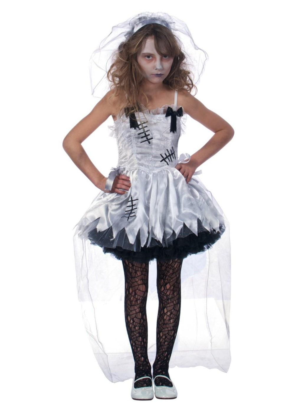 Zombie Flower Girl Halloween Costume Costumes