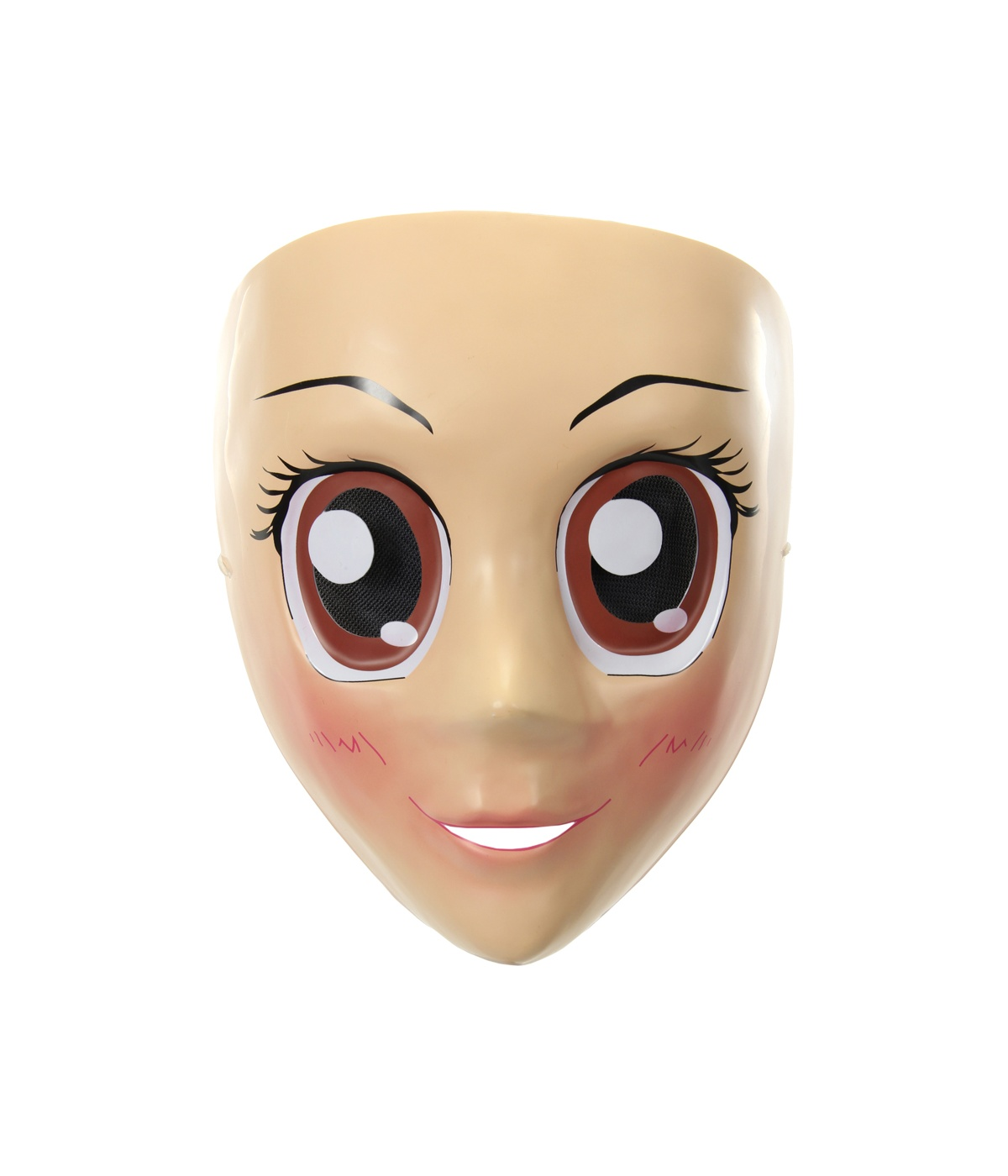 Googly Brown Eyes Anime Mask