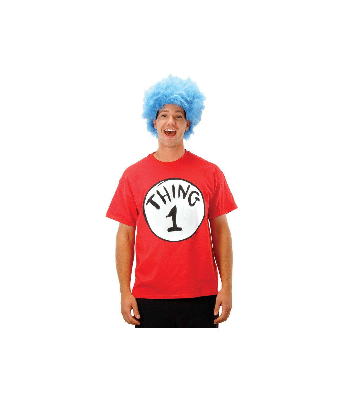 Hat Thing Shirt Wig Costume Kit