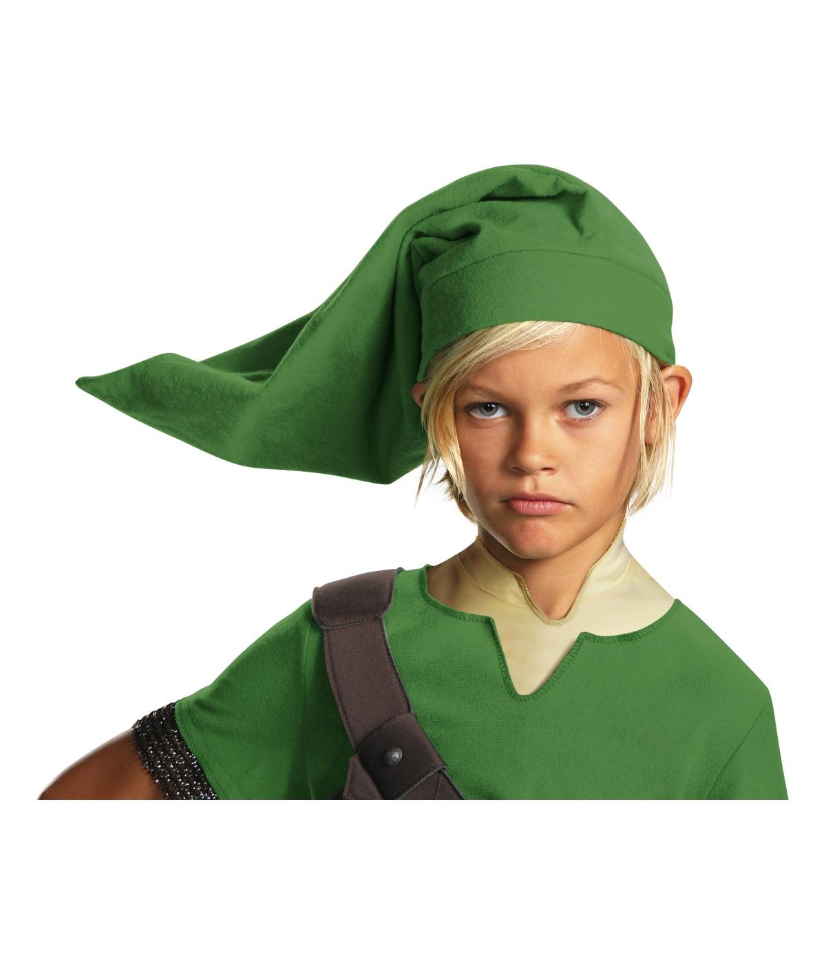 Link Boys Legend Of Zelda Elf Hat  sc 1 st  Wonder Costumes & Link Boys Legend of Zelda Elf Hat - Video Game Costumes