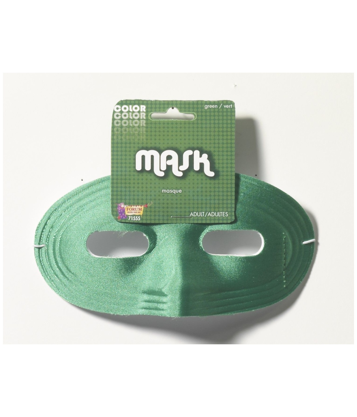 Mens Green Domino Mask