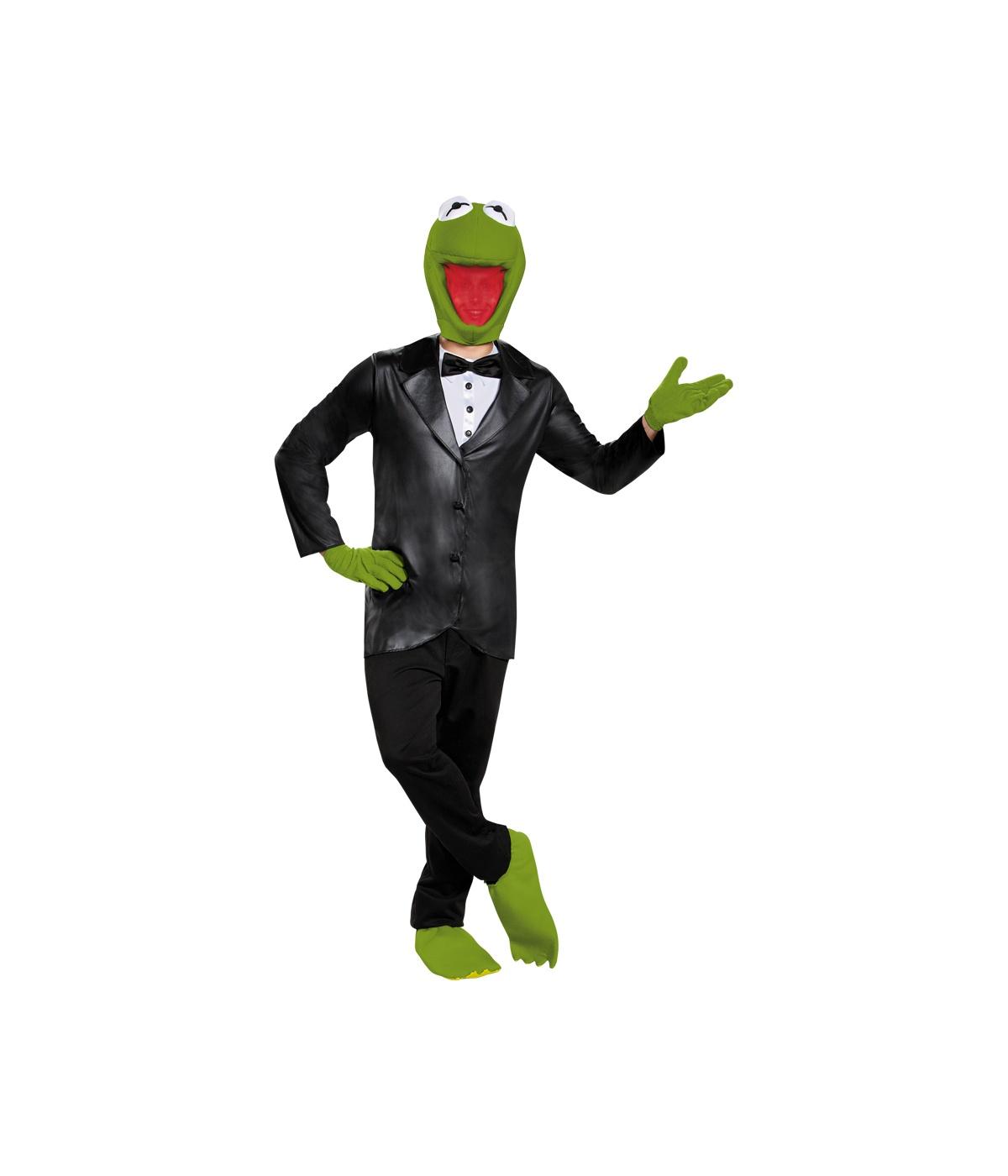 Kermit The Frog Teen Men Costume Tv Show Costumes