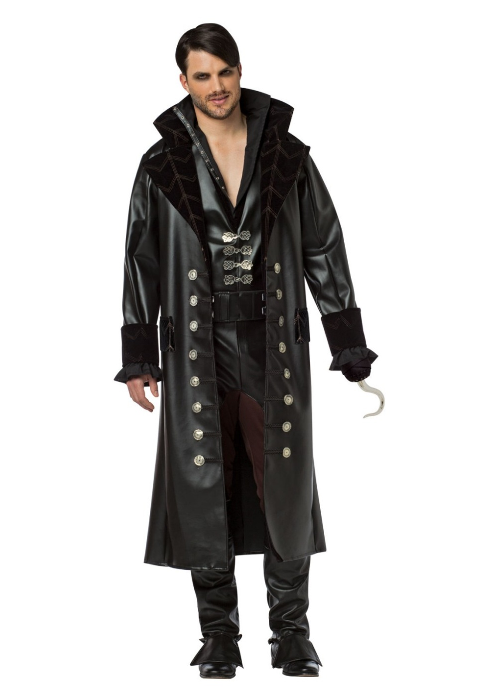 Once Upon A Time Captain Hook Mens Costume