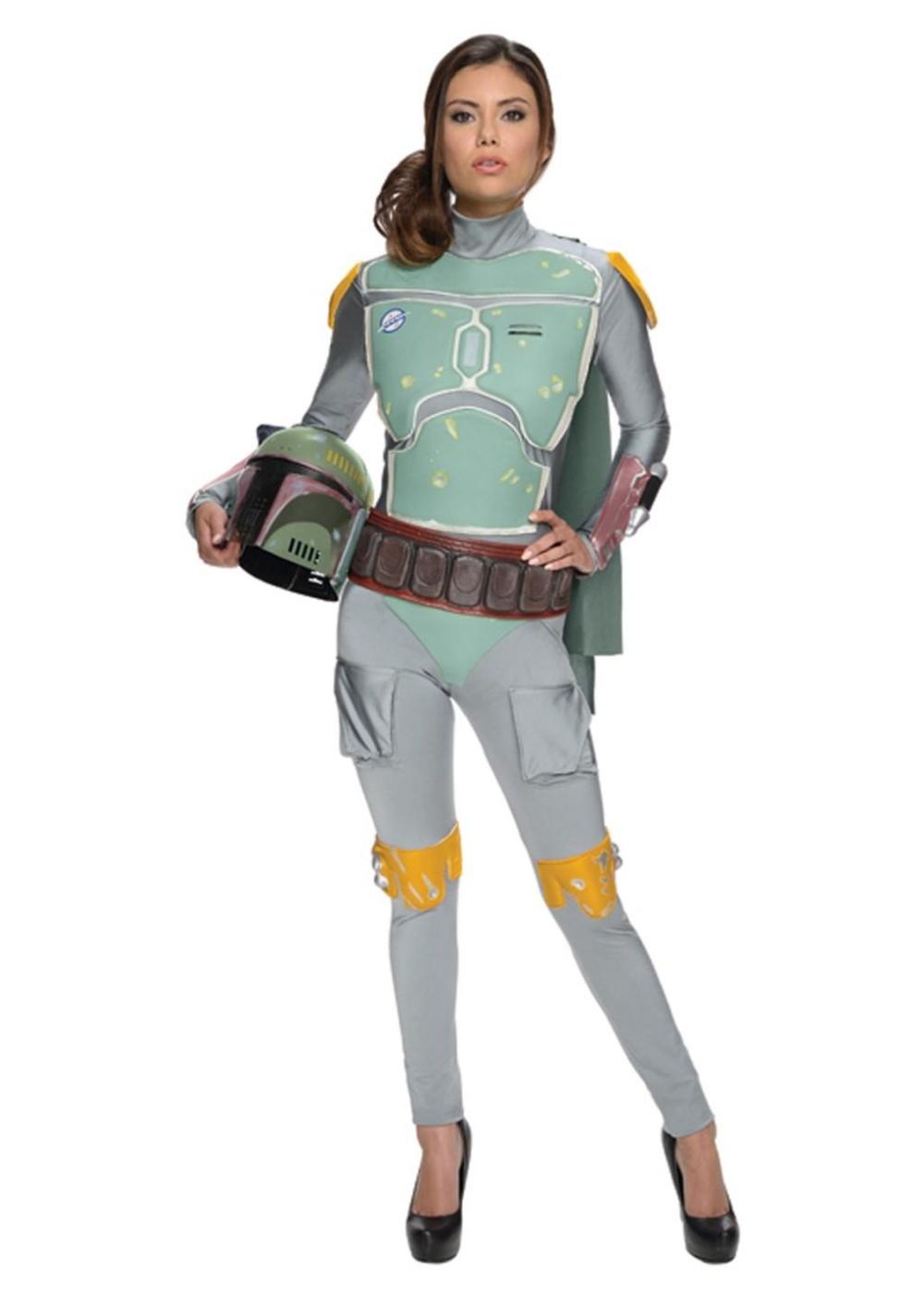 Star Wars Boba Fett Bodysuit Women Costume Movie Costumes