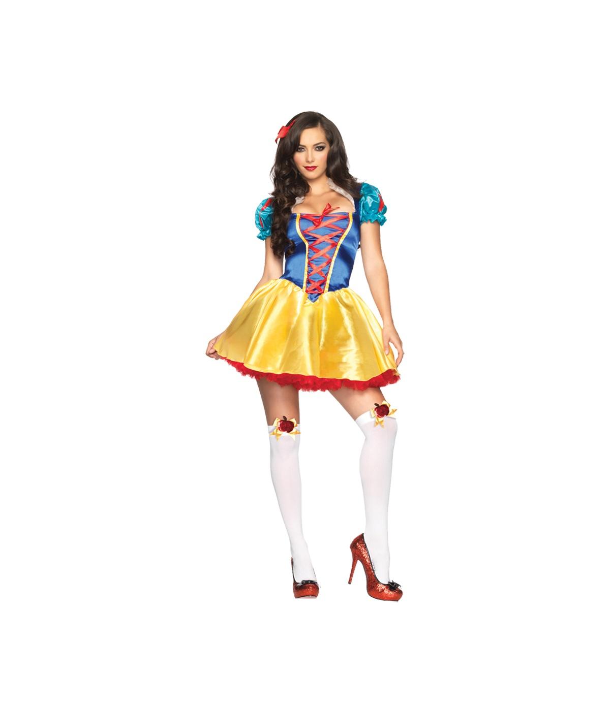 Disney Snow White Fairytale Princess Costume Sexy Costume