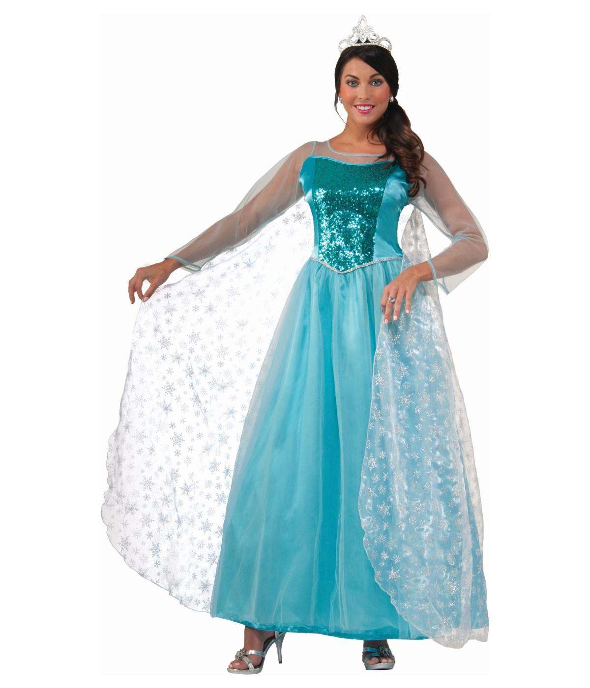 krystal ice princess womens costume princess costumes