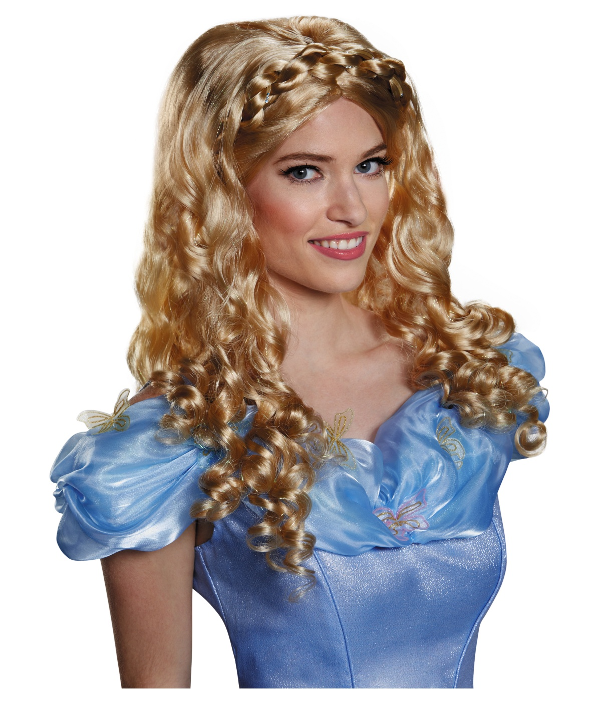 Womens Disney Cinderella Movie Wig