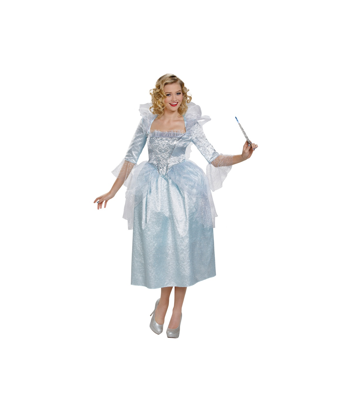 Womens Fairy Cinderella Dress Costume