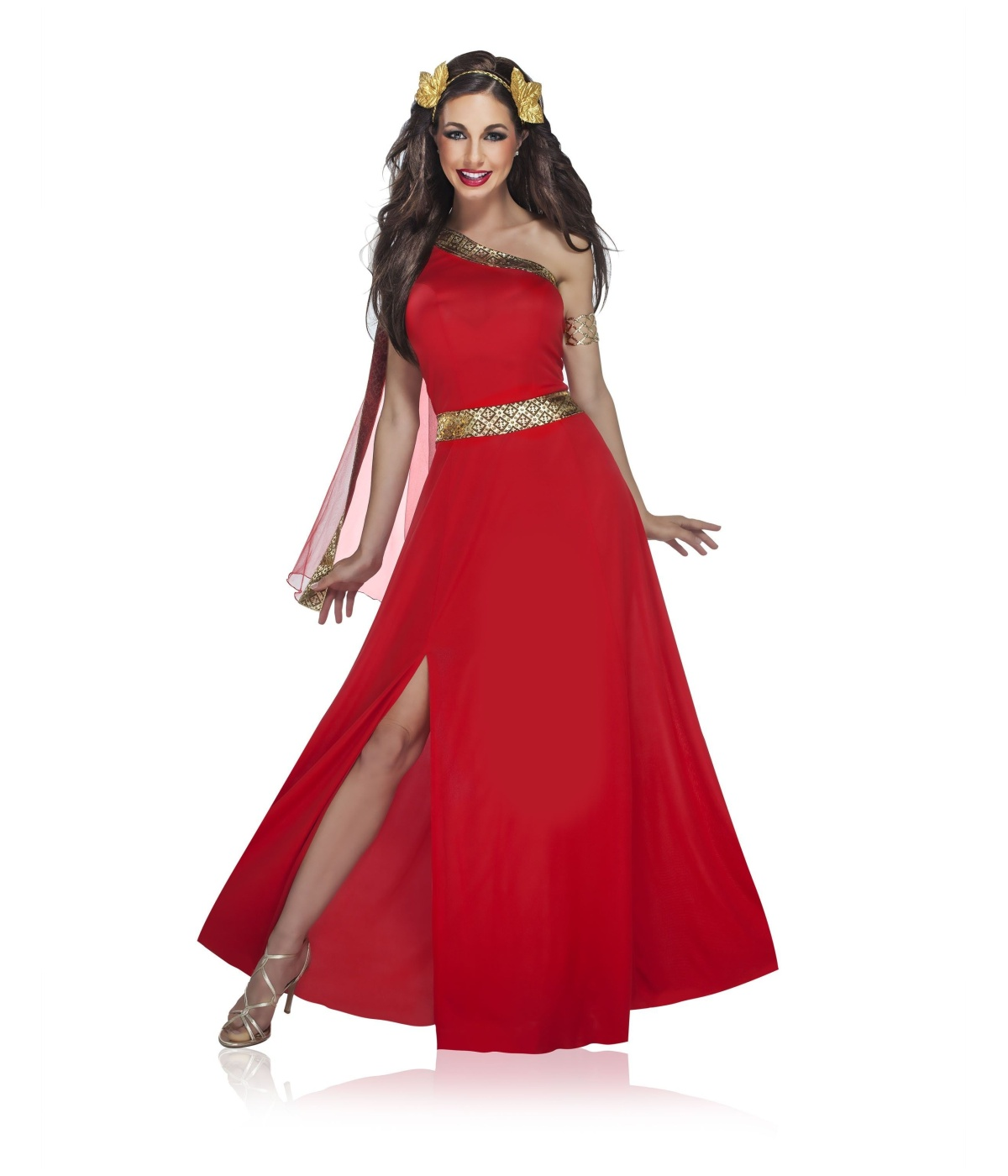 Garnet Greek Goddess Womens Costume - Greek Costumes