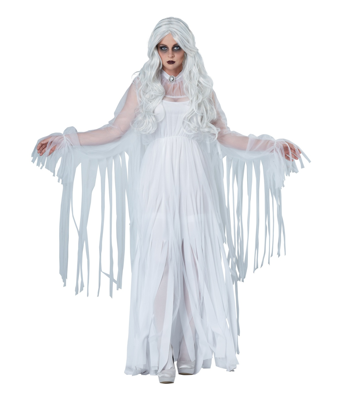 Ghostly Spirit Womens Costume  sc 1 st  Wonder Costumes & Ghostly Spirit Womens Costume - Scary Costumes