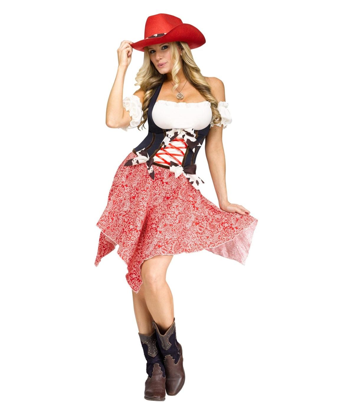 sc 1 st  Halloween Costumes & Hoedown Hottie Womens Costume - Sexy Costume