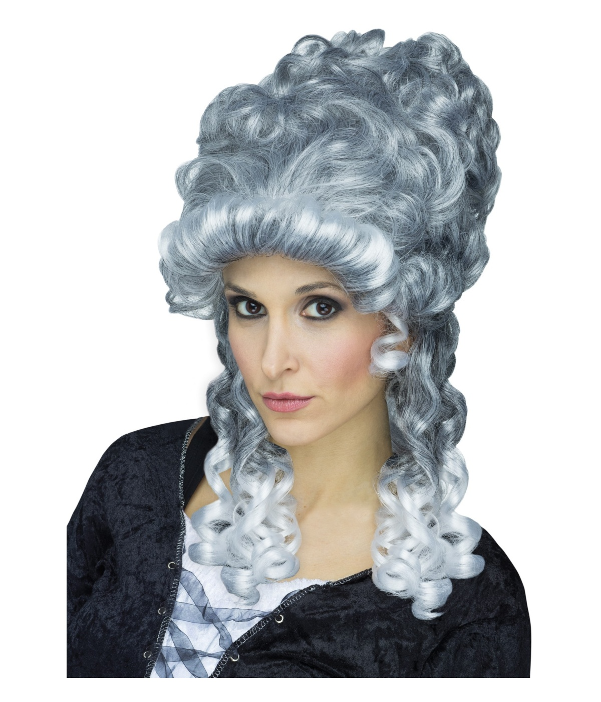 Victorian Ghostly Lady Womens Gray Wig - Renaissance Costumes 94e7b4ec98