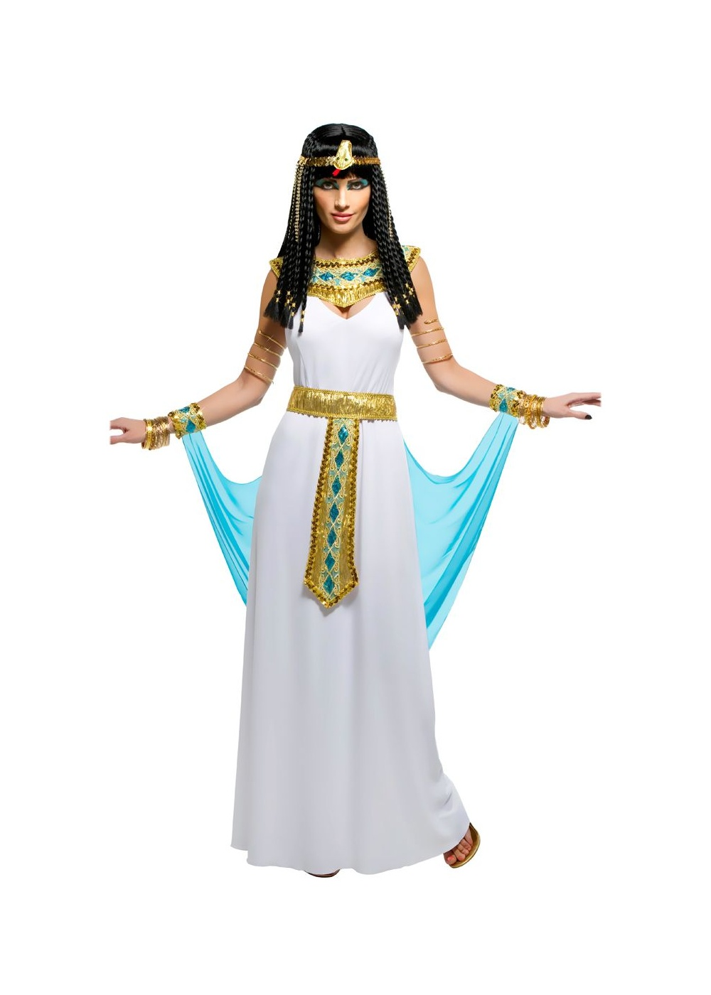 Cleopatra Adult Costume Ancient Egyptian Pharaoh Queen