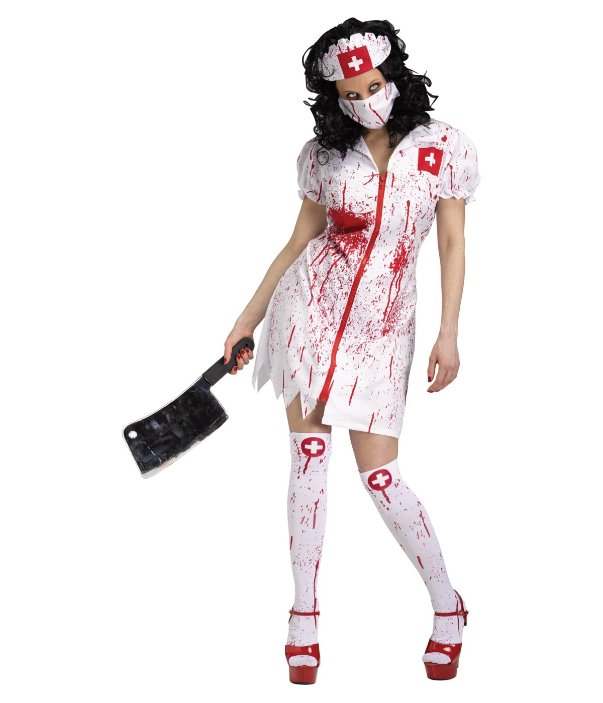 nurse fatale womens costume scary costumes. Black Bedroom Furniture Sets. Home Design Ideas