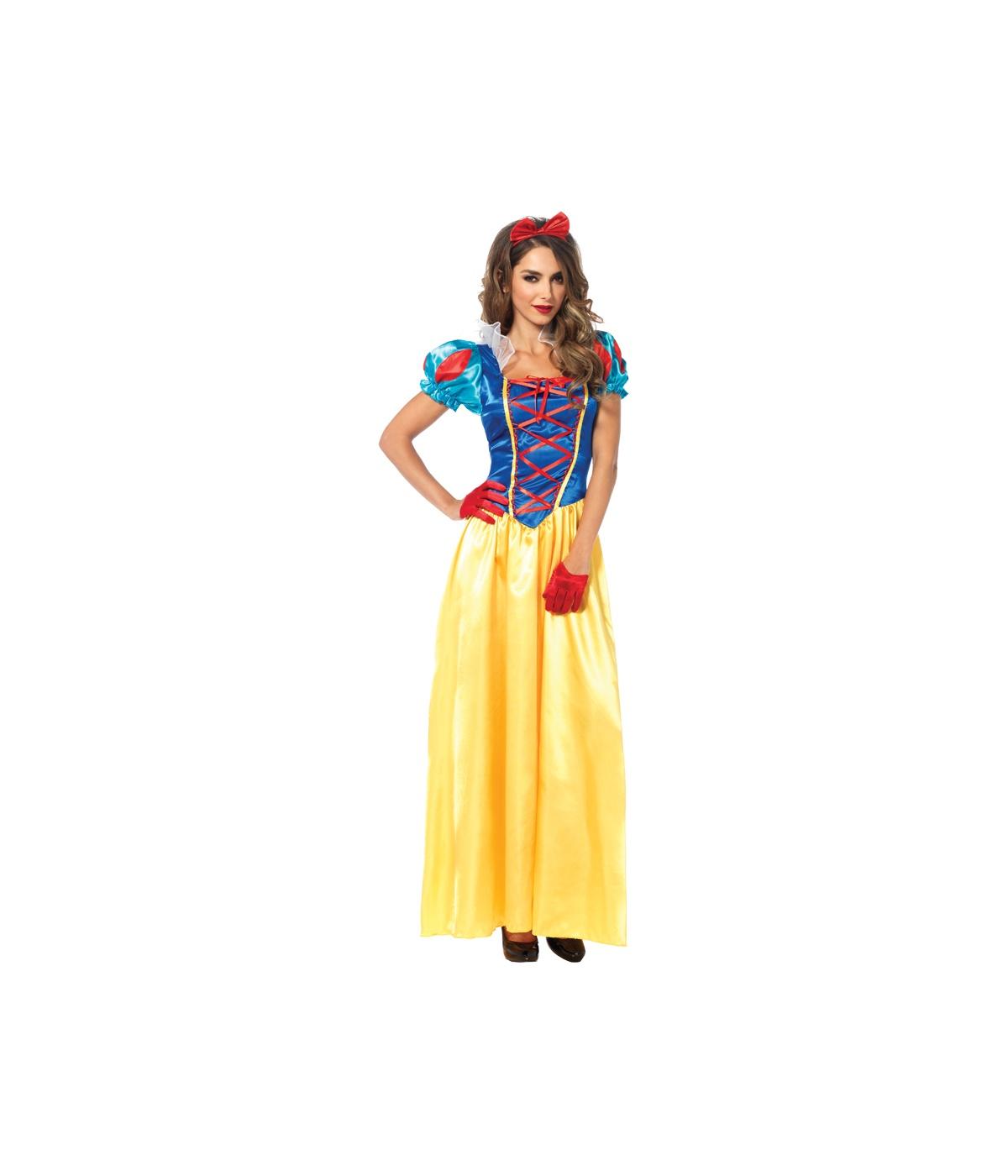 original snow white womens costume disney costumes. Black Bedroom Furniture Sets. Home Design Ideas