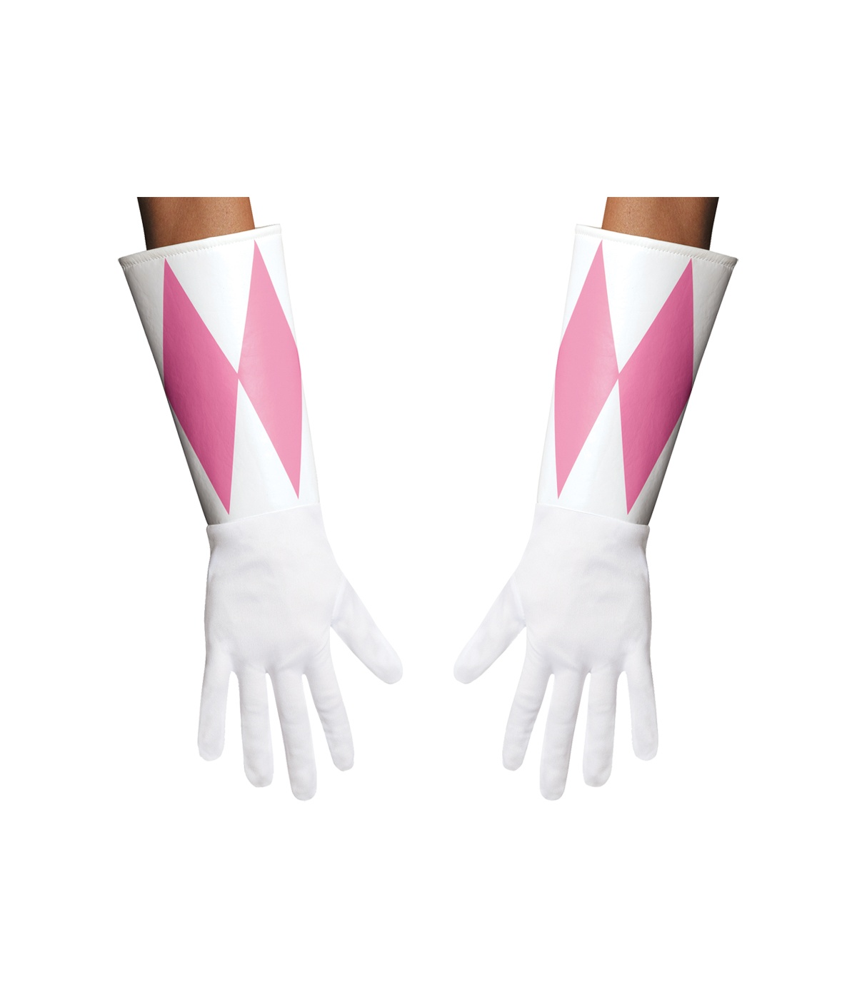 Pink Power Ranger Women Gloves Costume Accessories