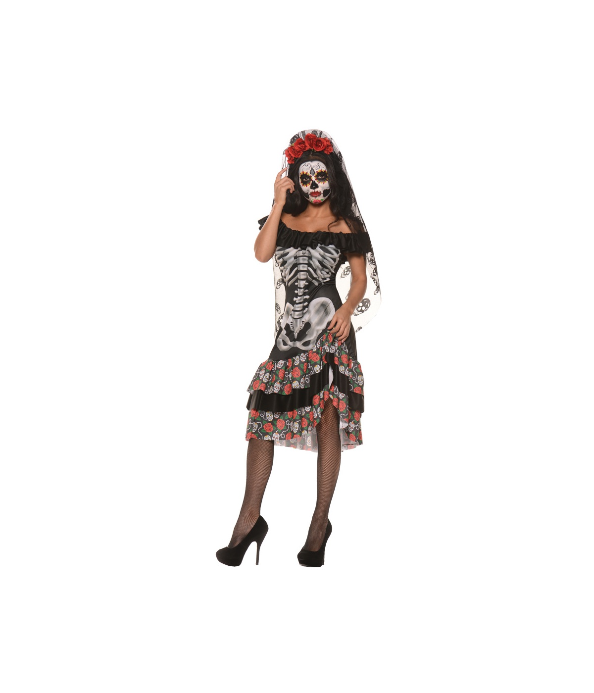 Womens Queen Dead Costume