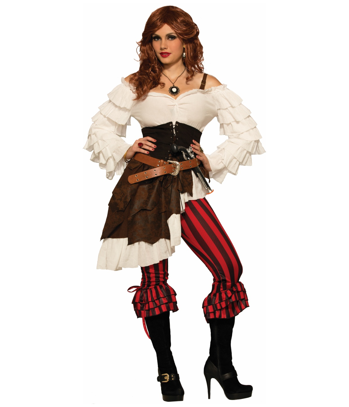 Renegade Ruby Pirate Womens Costume  sc 1 st  Wonder Costumes & Renegade Pirate Womens Costume - Pirate Costumes