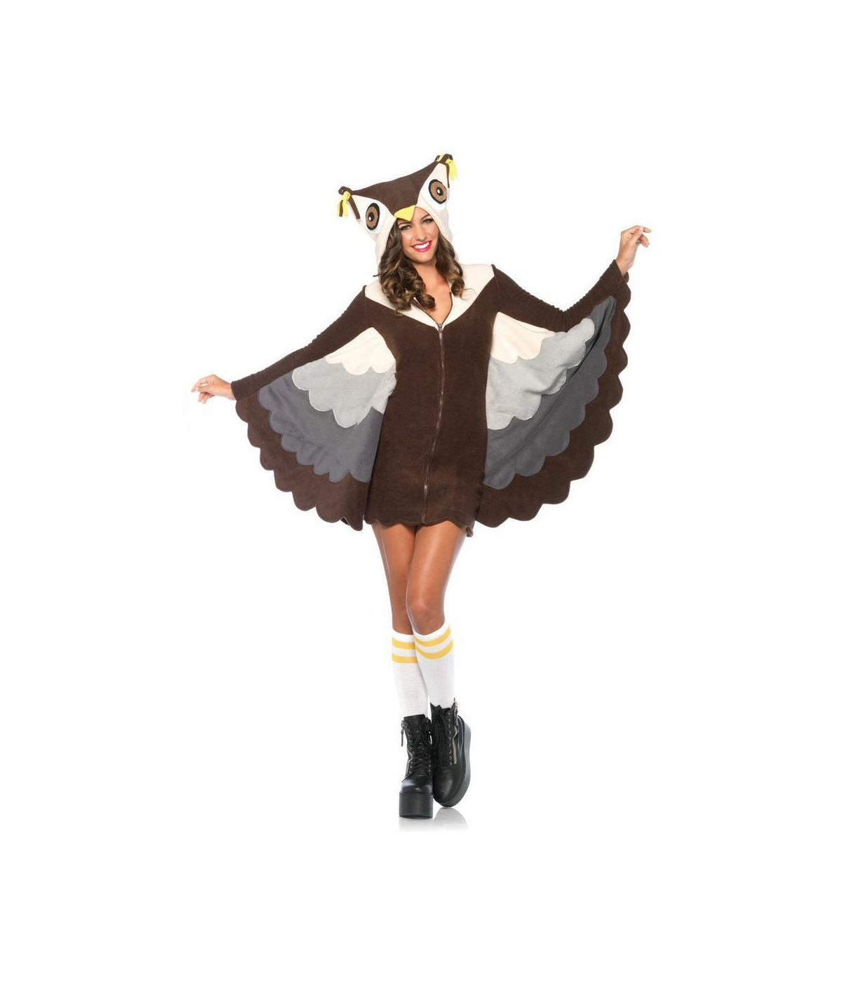 sc 1 st  Wonder Costumes & Make Em Say Owl Womens Animal Costume
