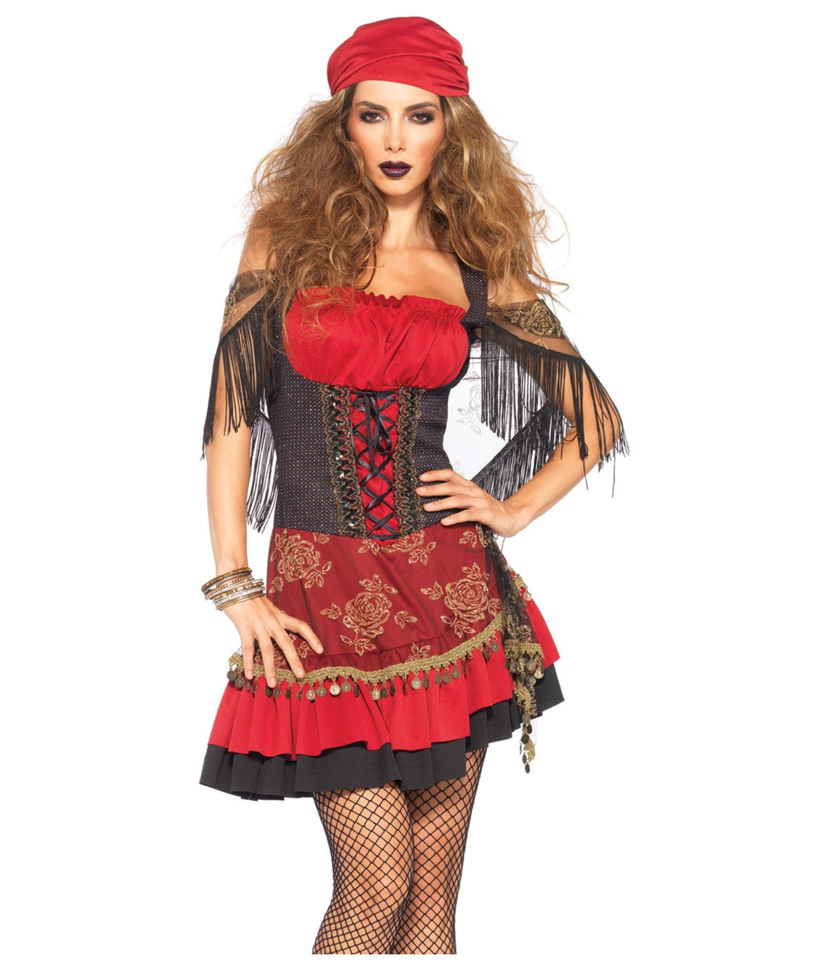 Scary Gypsy Halloween Costume