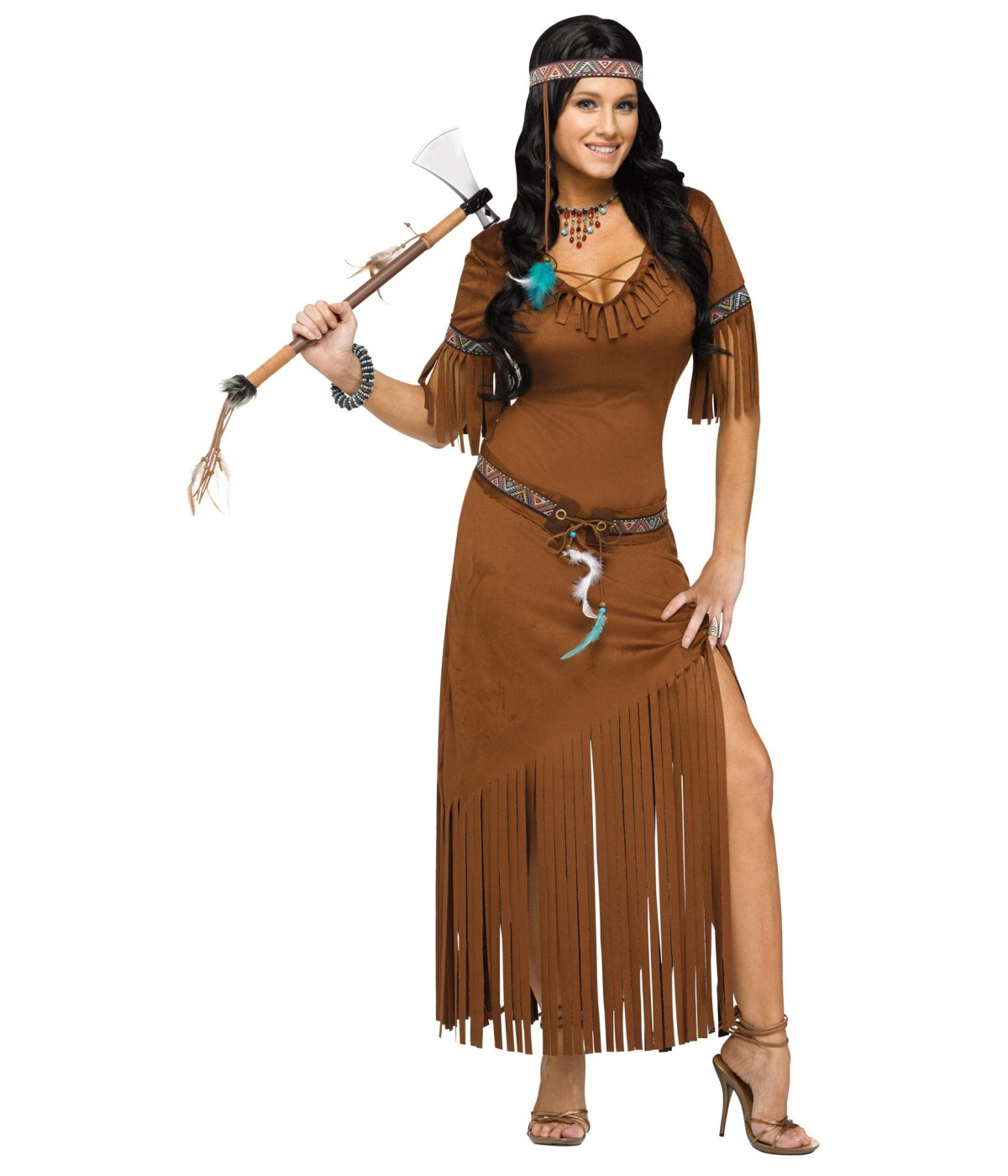 Sweet Summer Indian Womens Costume  sc 1 st  Halloween Costumes & Indian Sweet Summer Womens Costume