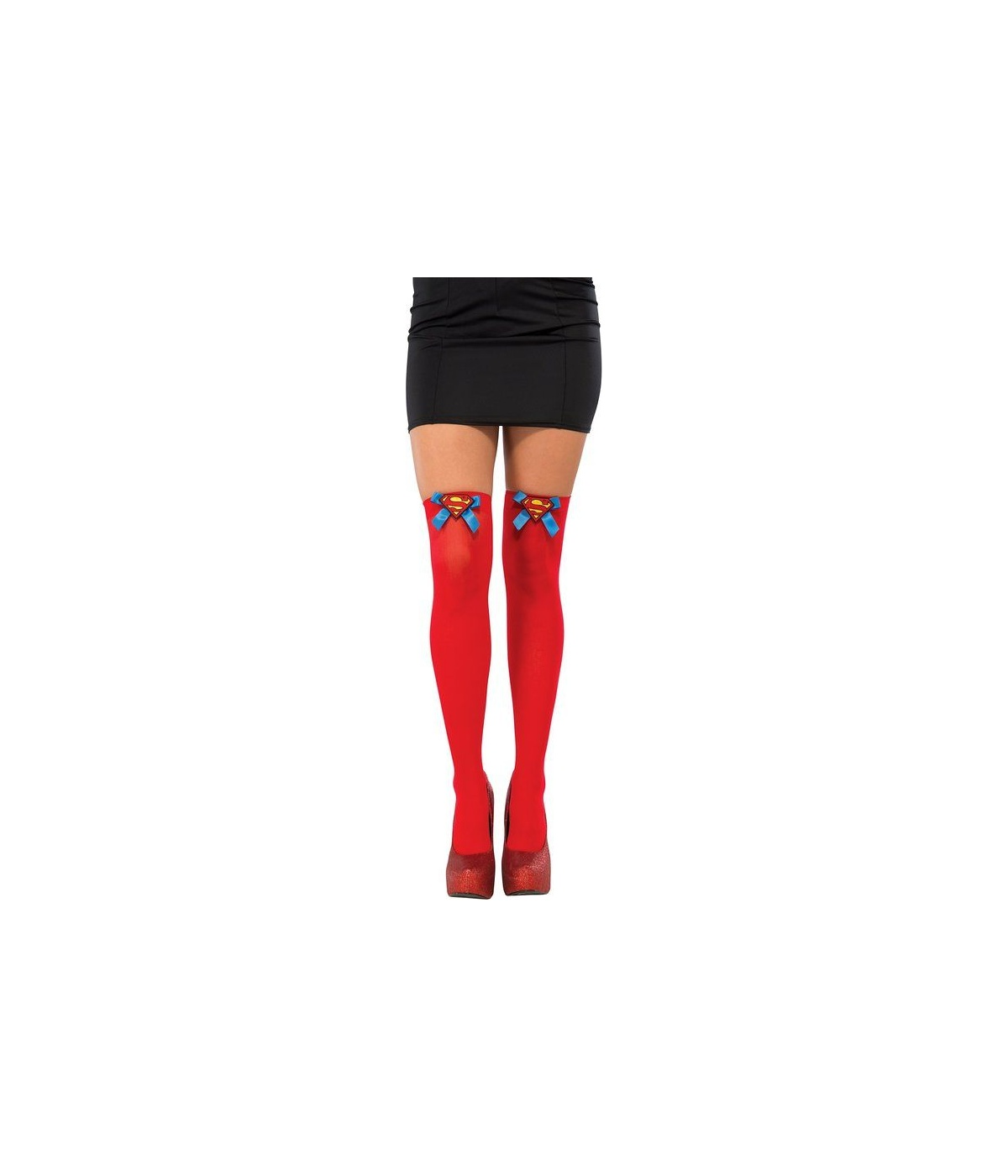 0e368c6fe Supergirl Thigh High Womens Stockings - Costume Accessories