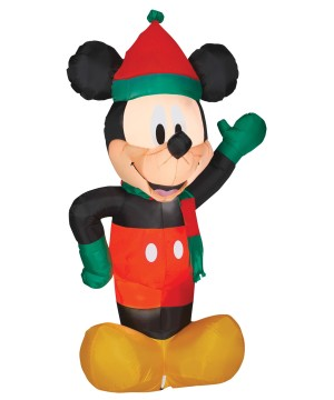 Airblown Christmas Mickey Mouse Decoration