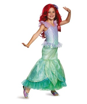 Girls Ariel Ultra Prestige Costume