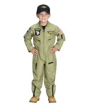 Armed Forces Pilot Toddler Boys Costume