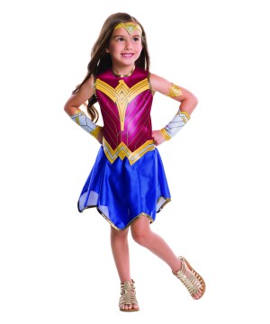 Batman V Superman Wonder Woman Girls Costume