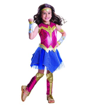 Batman V Superman Wonder Woman Girls deluxe Costume