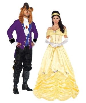 Beauty and the Beast Couple Costume Kit