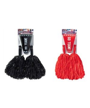 Black and Red Cheerleader Accessory Sets