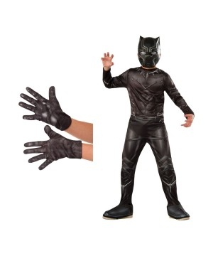 Black Panther Boys Costume Kit