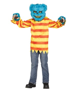 Blue Killer Bear Boys Costume