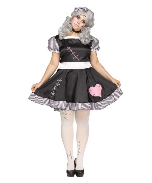 Broken Doll plus size Women Costume