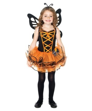 Butterfly Girls Costume and Tights Set