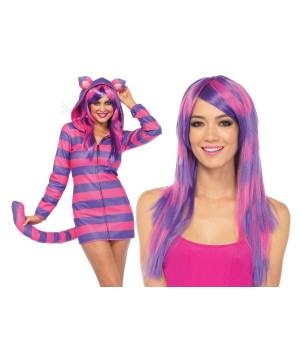 Cheshire Cat Cozy Lady Costume Kit