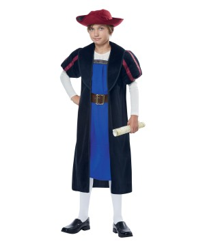 Christopher Columbus Boy Costume