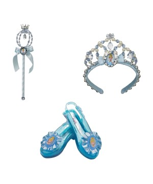 Cinderella Shoes Wand and Tiara Accessory Kit
