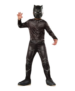 Civil War Black Panther Boys Costume